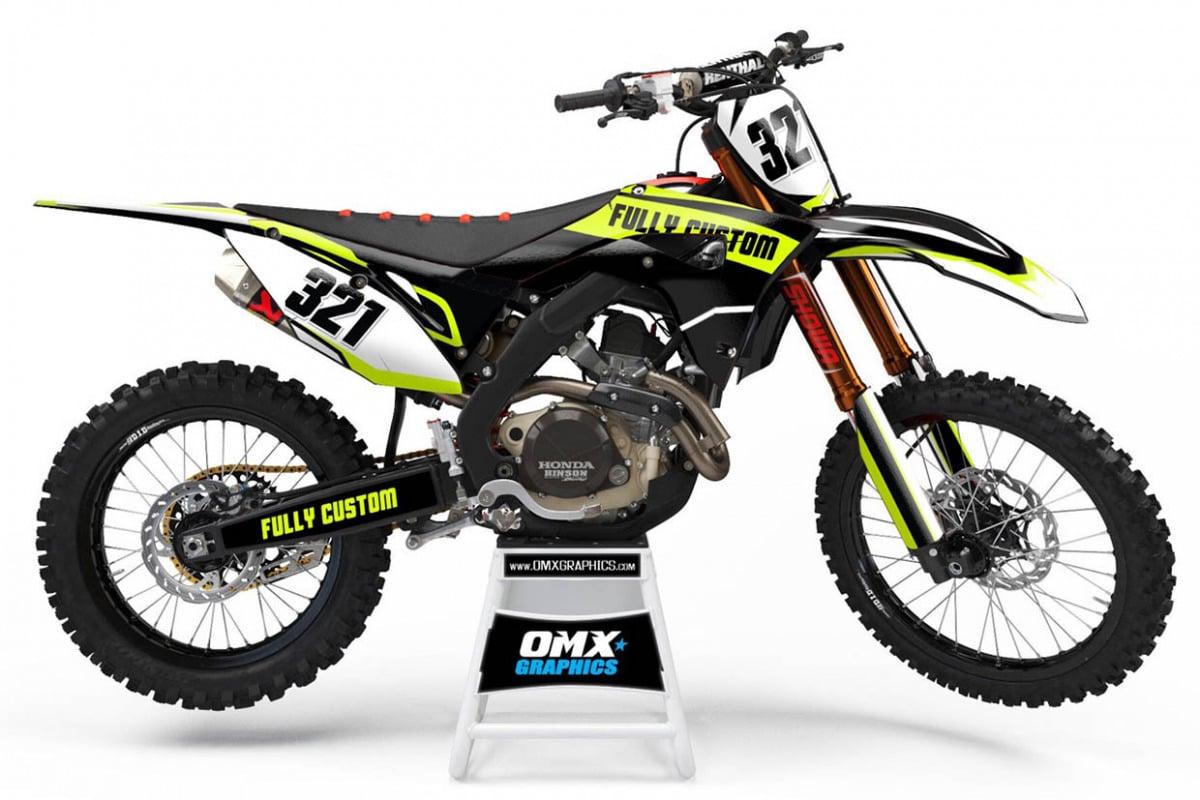 Fully Custom Motocross Graphics