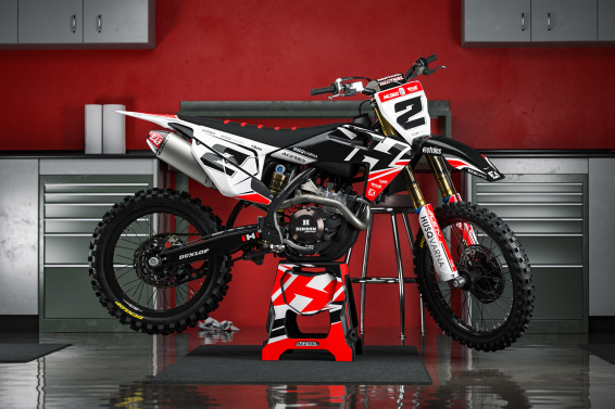 Husqvarna Dirt Bike Decals Zoned