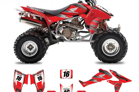 Honda ATV Graphics Fly