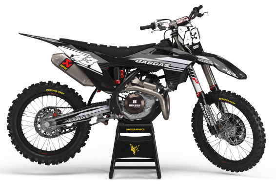 GasGas Mx Graphics Kit Fame 2