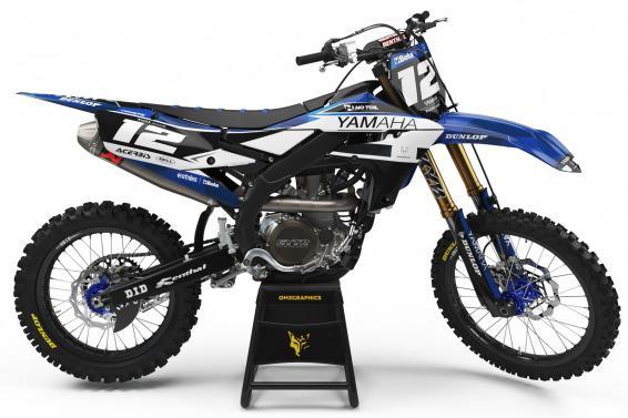 Yamaha Mx Graphics Kit Shades